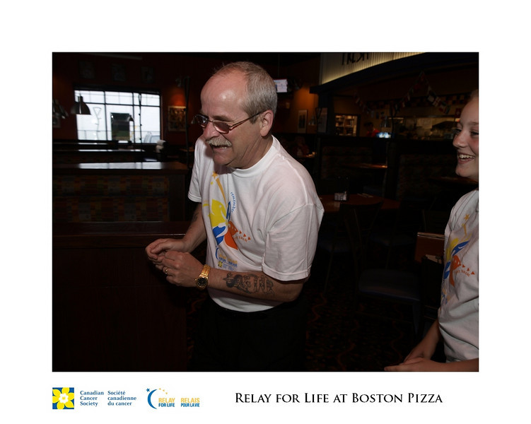 Relay for Life Fundraiser at Boston Pizza 17