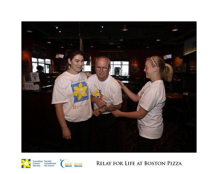 Relay for Life Fundraiser at Boston Pizza 18