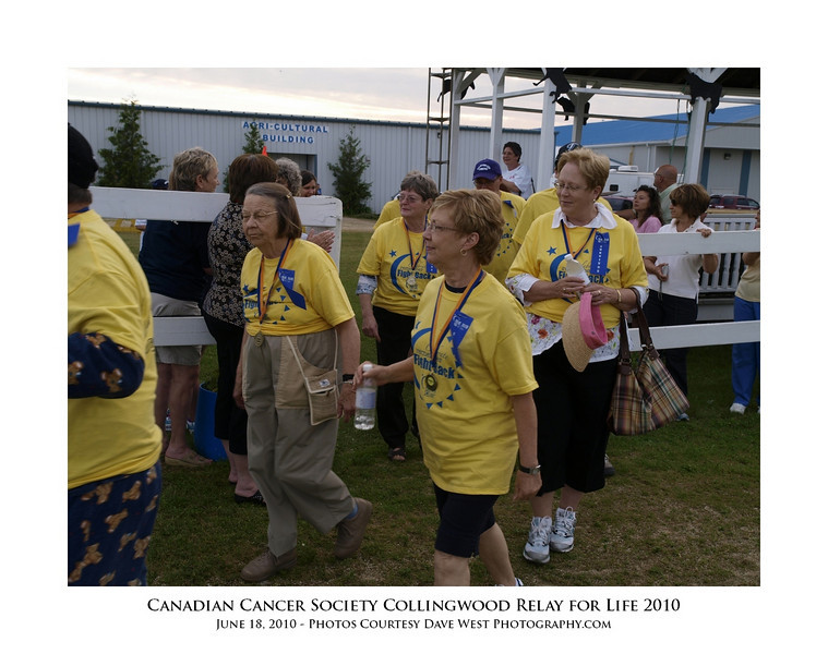 Canadian Cancer Society Relay for Life Collingwood 2010  77