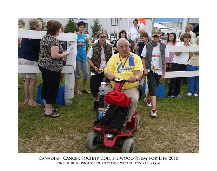 Canadian Cancer Society Relay for Life Collingwood 2010  81