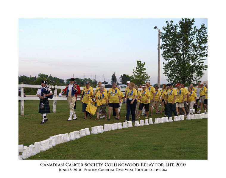 Canadian Cancer Society Relay for Life Collingwood 2010  84