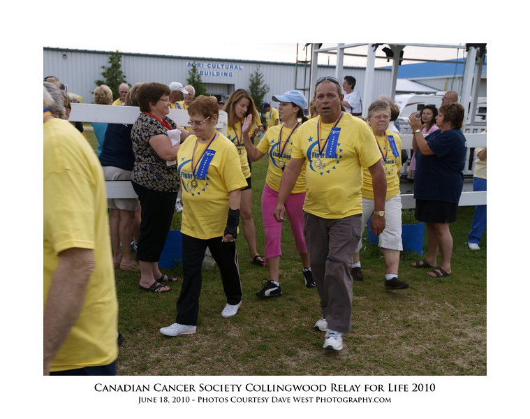 Canadian Cancer Society Relay for Life Collingwood 2010  70