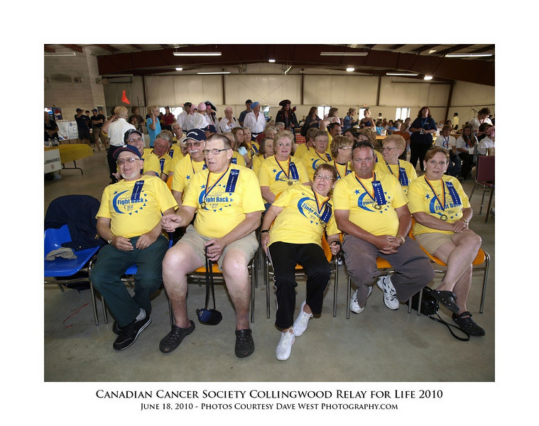Canadian Cancer Society Relay for Life Collingwood 2010  34