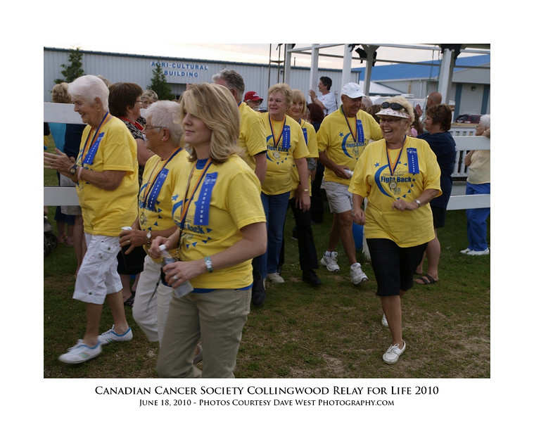 Canadian Cancer Society Relay for Life Collingwood 2010  66