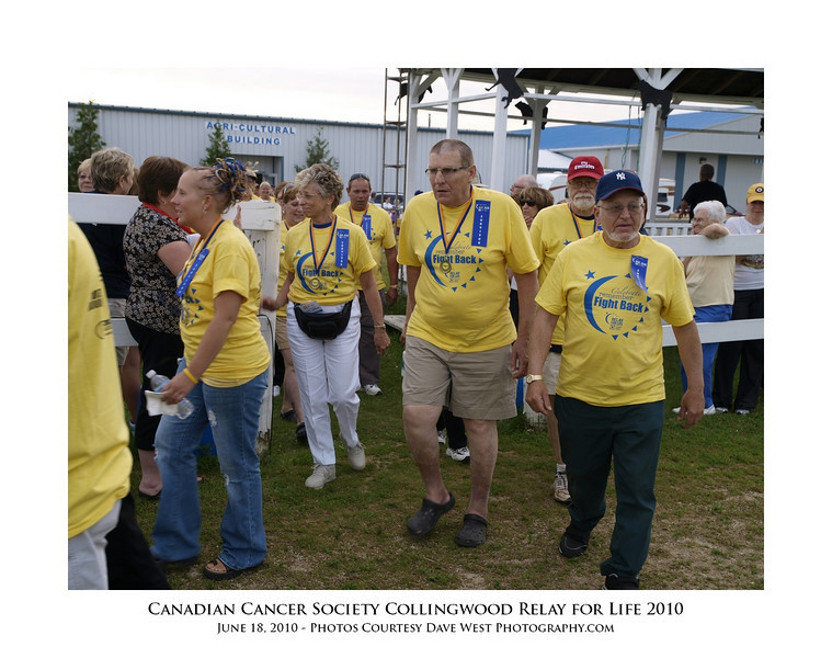 Canadian Cancer Society Relay for Life Collingwood 2010  68