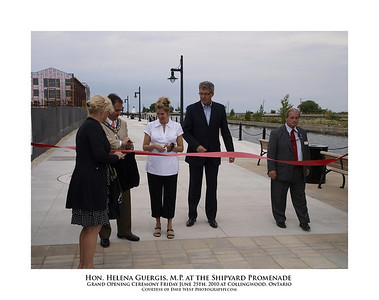 Helena Guergis at the Shipyard Promenade Opening  9