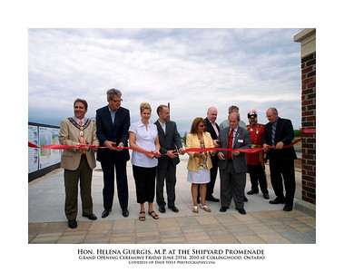 Helena Guergis at the Shipyard Promenade Opening  23