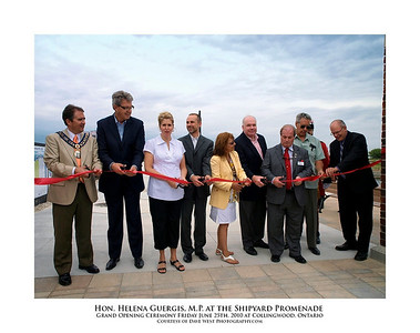 Helena Guergis at the Shipyard Promenade Opening  24