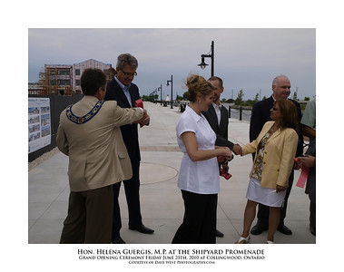 Helena Guergis at the Shipyard Promenade Opening  13