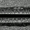 Johnson and Wright, Northampton cast iron pavement drainage channel, Manfield  Road, Northampton