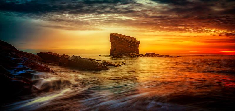 Collywell Bay. England by Ray Bilcliff - www.trueportraits.com
