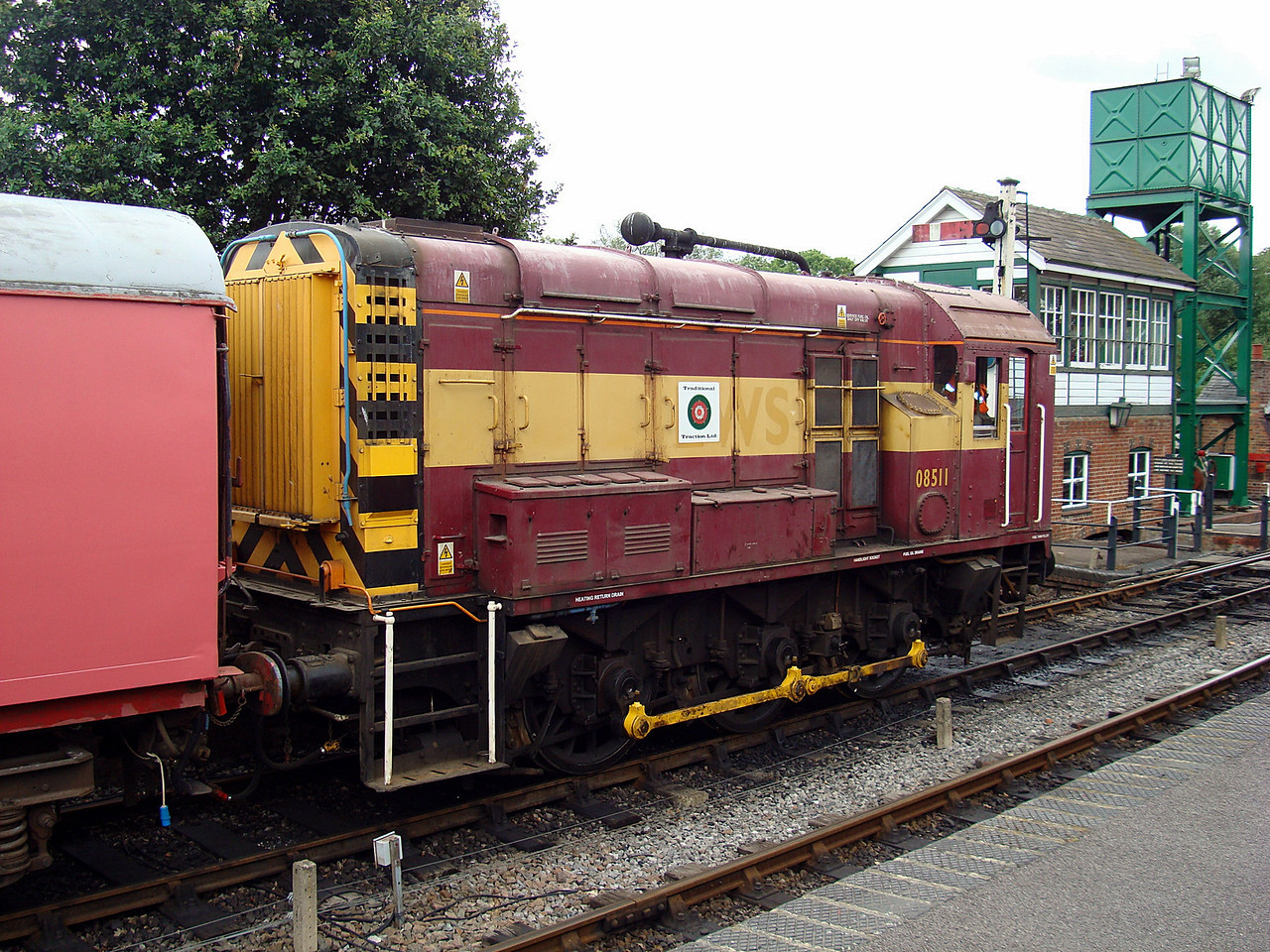 BR 08511 Dar  0-6-0DE 30,07,2010 (Now At Derby Works)