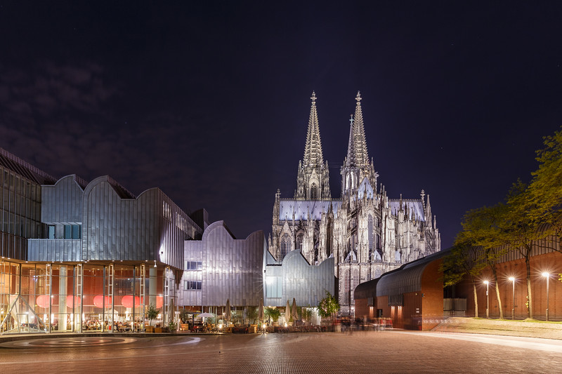 Museum Ludwig and Cathedral   Cologne