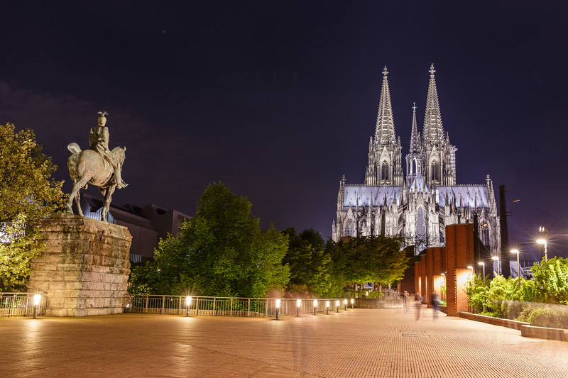 Kaiser Wilhelm II Monument and Cathedral   Cologne