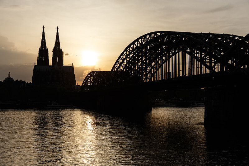 Cathedral and Bridge   Cologne