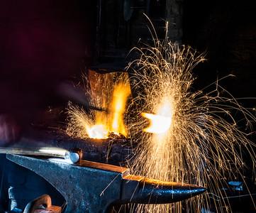 Blacksmith Sparks, Coloma