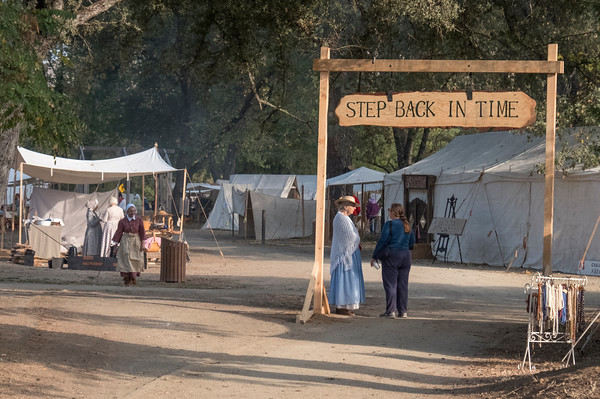 Entrance to Gold Rush Live, Coloma