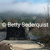 Sutter's Mill Monument and Fog, Coloma