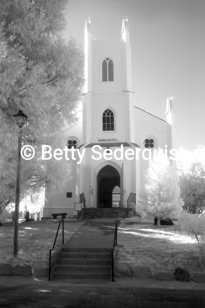 Infrared View of Historic Emmanuel Church