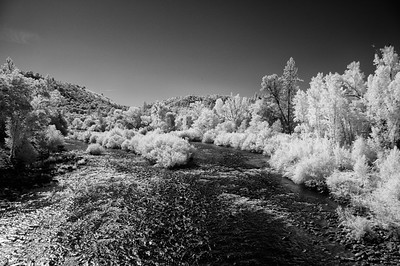 Infrared View of South Fork American River