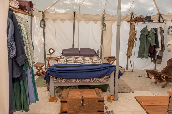 Pharmacist Tent, Gold Rush Live
