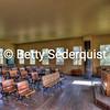 Interior of Historic Coloma One Room School