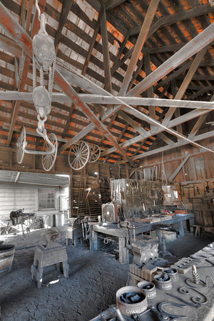 Roof of Blacksmith Shop, Coloma, California