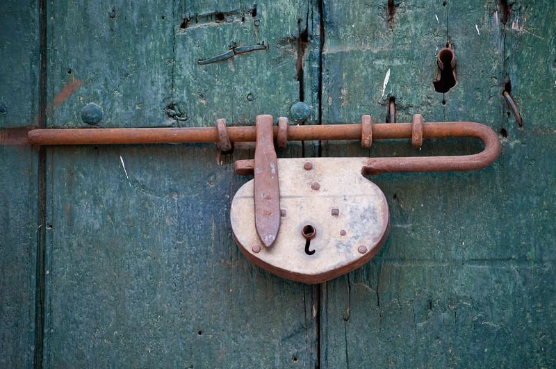 Lock, Mompox (Mompós), Colombia.
