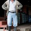 Caretaker at Reserva Natual Acaime, Cocora, Colombia