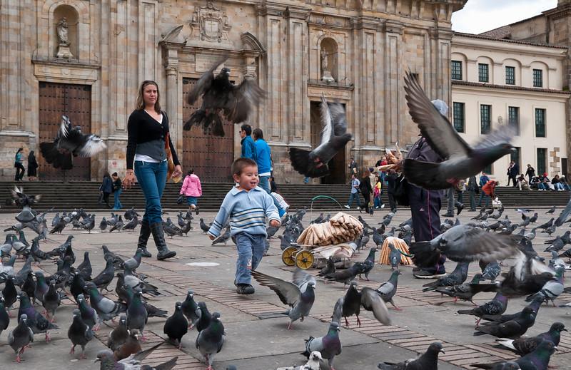Plaza de Bolívar, Bogota, Colombia