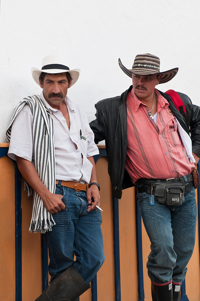 Local men, Salento, Colombia