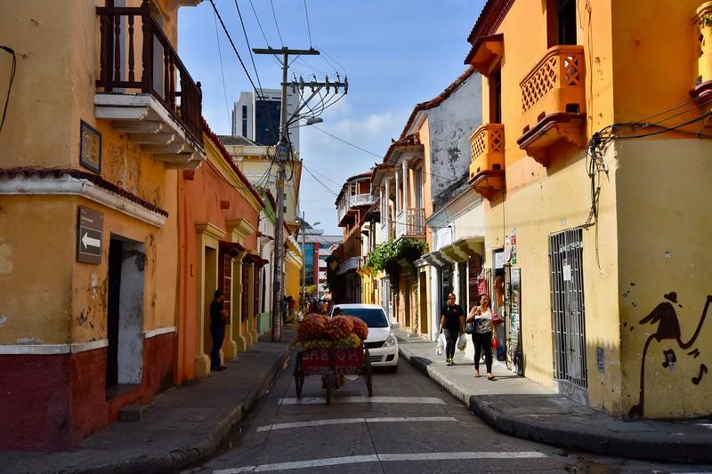 El Centro, Cartagena, Colombia