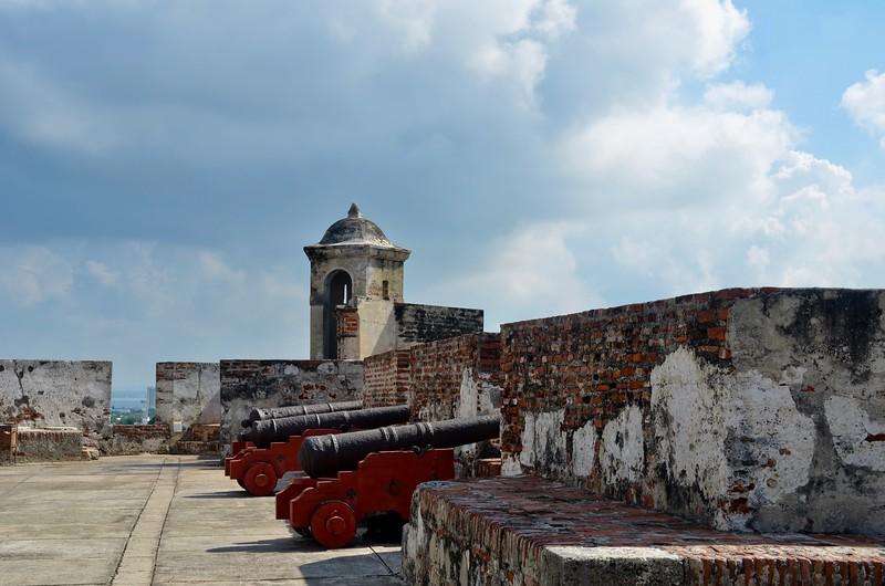 Castillo San Felipe, Cartagena, Colombia