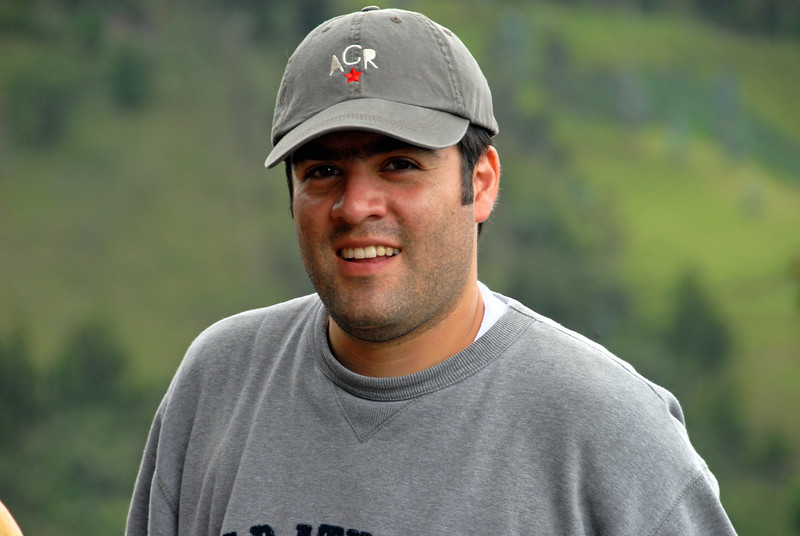 This is Alejandro Cadena of Virmax Coffee Company in Colombia, my guide on these trips.