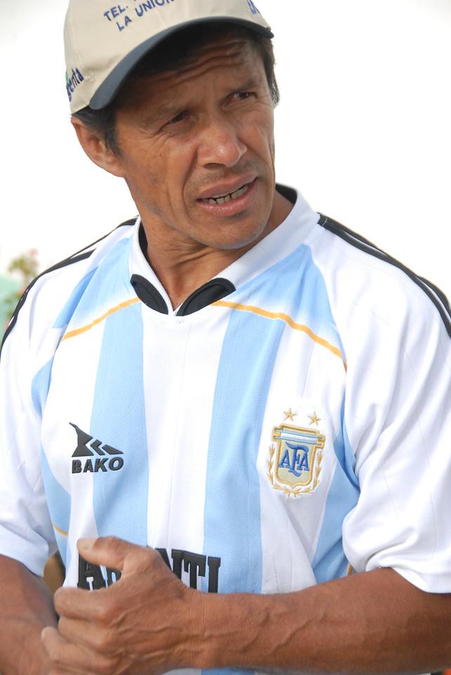 Segundo Bravo, owner of Alto Bonito.