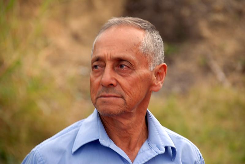 Alejandro Ahumado, Wbeimar's father-in-law.  His farm is called La Cristalina.