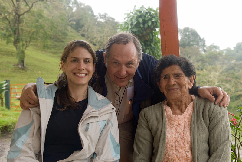 My daughter, Jennifer, me and Maria Santos.