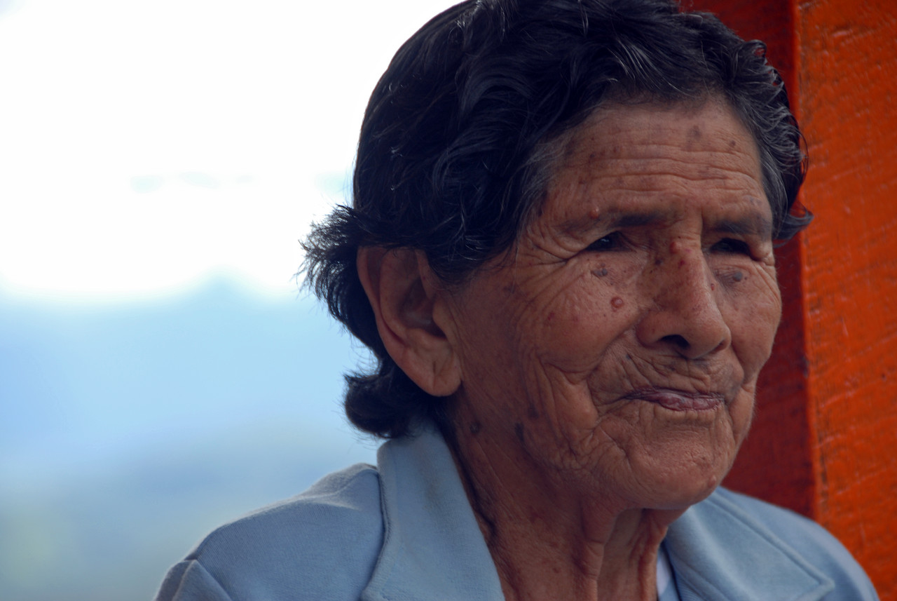 Maria Santos.  She dominated our Colombian offerings at Terroir from 2005 to 2008, when she retired at the age of 88.  We picked out her coffee blind from hundreds of samples each of those years.