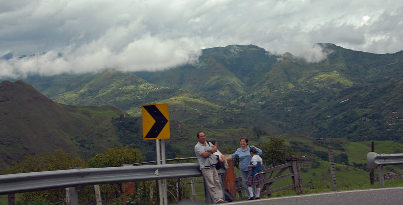 I have often been driven from Popayan in Cauca (see previous Gallery) to the town of La Union in Nariño. It is a good five hours drive.  It is, however far from boring!  These shots are taken right out of the car while driving.....