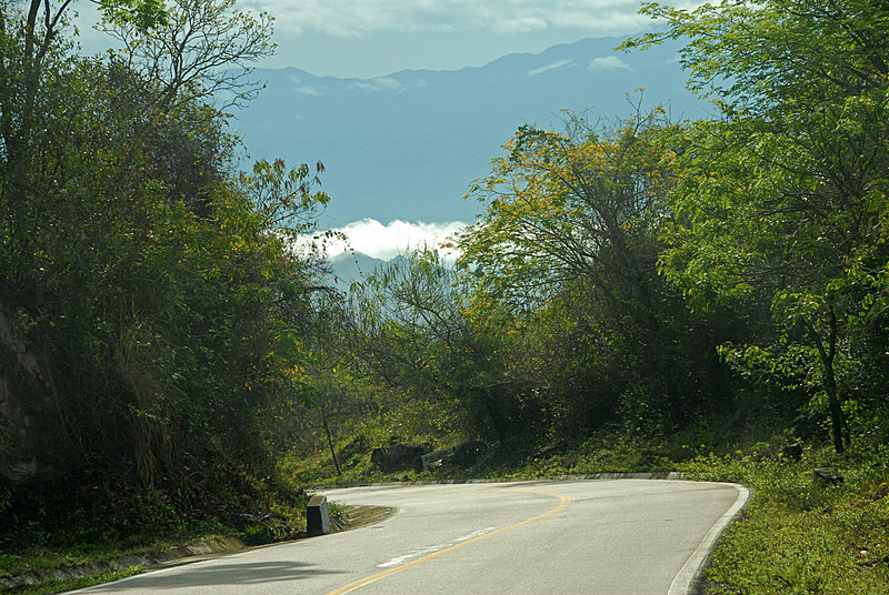 On the road in the southern part of Huila state.
