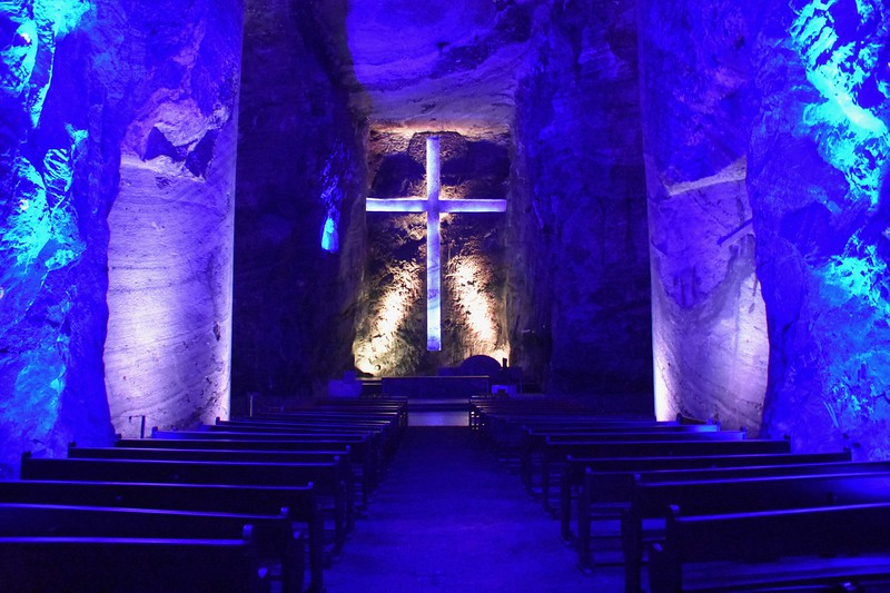 Salt Cathedral, Zipaquira, Cundinamarca, Colombia