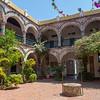 Convento de la Popa courtyard