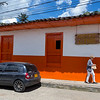 A colorful home in Solento.