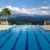 The infinity pool at Mirador de Las Palmas, near Armenia.