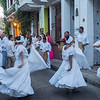 Afro stlye music and dance in Cartagena