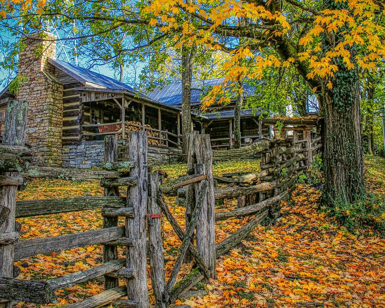 Yeary Cabin in Walnut Grove