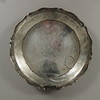 "Charger, 18th century.  Peru or Bolivia.  Diameter:  14 1/4""."