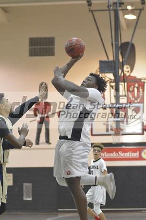 Boys Freshmen Basketball vs University 01-25-18