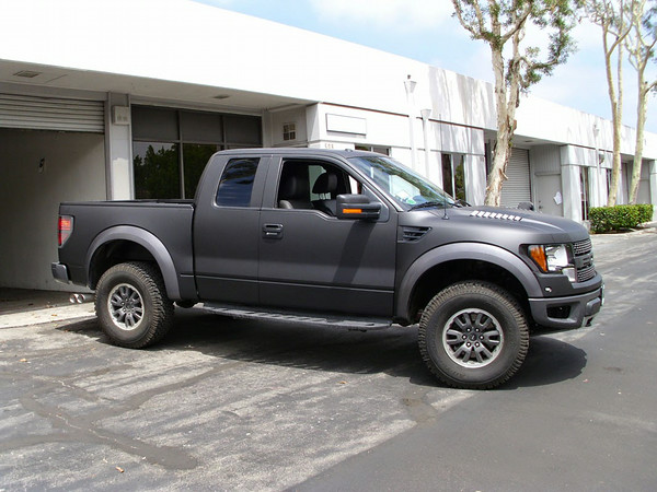 Ford F150, Matte Black, Los Angeles, CA