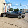 """Flat Black wrap on a Dodge Viper in Dallas, TX. <a href=""http://www.skinzwraps.com"">http://www.skinzwraps.com</a>"""